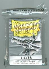 Mini Sleeves - Silver (50)
