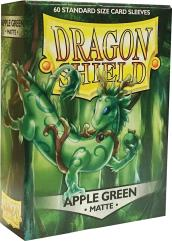 Standard Sleeves - Matte Apple Green (60)