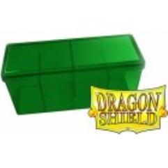 Four Compartment Box - Green