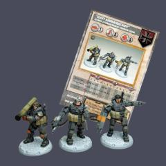 Schwer-Sturmgrenadiere Command Squad - Heavy Kommandotrupp