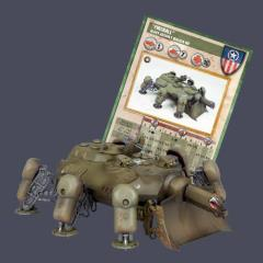 Heavy Assault Walker M7-B - Fireball, Cerberus Pattern (Premium Edition)