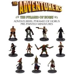 Adventurers, The - The Pyramid of Horus Pre-Painted Miniatures