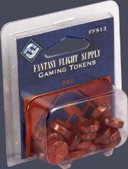 Gaming Tokens - Red
