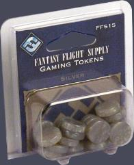 Gaming Tokens - Silver