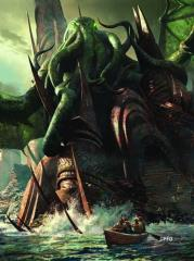 Card Sleeves - Standard CCG Size, Cthulhu Rising (50)