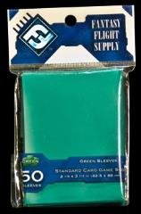 Card Sleeves - Standard CCG Size, Green (10 packs of 50)