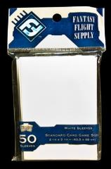 Card Sleeves - Standard CCG Size, White (10 packs of 50)