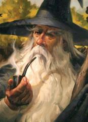 Standard CCG Size, Gandalf (Limited Edition) (50)