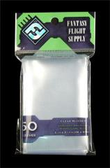 Card Sleeves - Standard American Board Game Size, Clear (50)