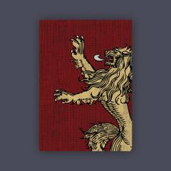 Card Sleeves - Standard CCG Size, House Lannister (50)