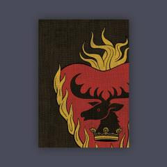 Card Sleeves - Standard CCG Size, Stannis Baratheon (50)