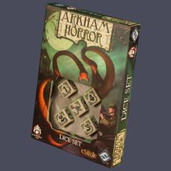 Arkham Horror Dice Set - Bone (5)