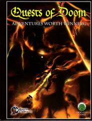 Quests of Doom Complete w/PDF (Swords & Wizardry) (Limited Edition)
