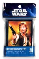 Card Sleeves - Standard CCG Size, Han Solo (Limited Edition) (50) (10 packs of 50)