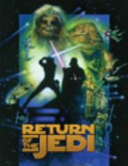 Card Sleeves - Standard CCG Size, Return of the Jedi (Limited Edition) (10 packs of 50)