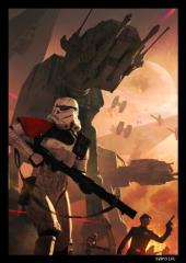 Card Sleeves - Standard CCG Size, Trooper Assault (Limited Edition) (50)