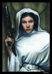 Card Sleeves - Standard CCG Size, Princess Leia (Limited Edition) (10 packs of 50)