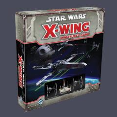 X-Wing Miniatures Collection #1 - Base Game + 2 Additional Ships!