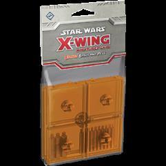 X-Wing Bases - Orange