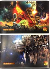 Twilight Imperium (4th Edition) Limited Edition Promo Art Prints & Rulebook