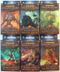 Warhammer Invasion - The Morrslieb Cycle Battle Packs Collection