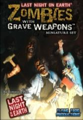 Zombies With Grave Weapons - Miniature Set