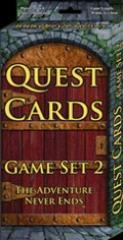Quest Cards - Game Set #2