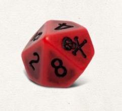 Dice Set - Blood (6)
