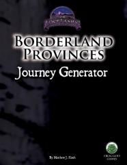 Borderland Provinces - Journey Generator (Unisystem)