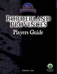 Borderland Provinces - Player's Guide (Unisystem)