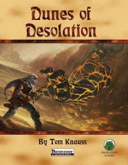 Perilous Vistas - Dunes of Desolation (Pathfinder)