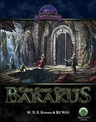 Lost City of Barakus, The (Pathfinder)