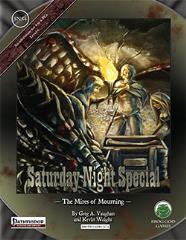 Saturday Night Special #4 - The Mires of Mourning (Pathfinder)