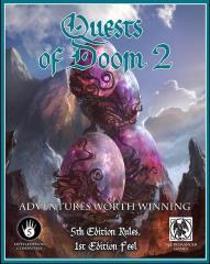 Quests of Doom #2 w/PDF (D&D 5e)