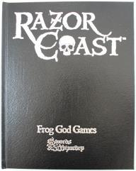Razor Coast (w/PDF) (Collector's Edition) (Swords & Wizardry)