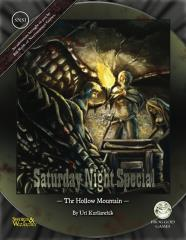 Saturday Night Special #1 - The Hollow Mountain (Swords & Wizardry)