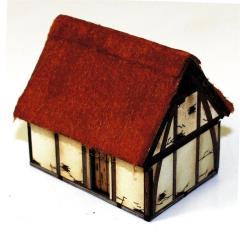 Saxon/Late Medieval Hovel (Pre-Painted)