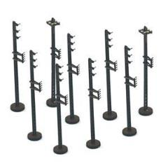Telegraph Poles - French (Pre-Painted)