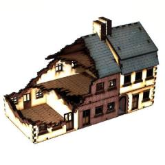 Terrace Houses - Type 1 - Damaged (Pre-Painted)