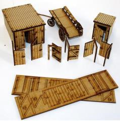 Rorke's Drift Outhouse & Door Collection