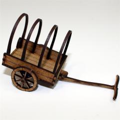 Roman Ox Cart (Pre-Painted)