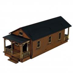 Shotgun House - B (Pre-Painted)