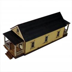 Shotgun House - C (Pre-Painted)