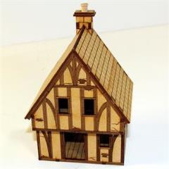 Old Timber Framed Cottage (Unpainted)
