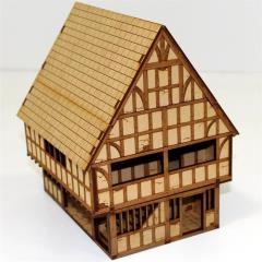 Timber Framed Market Hall & Jail (Unpainted)