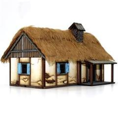 Polish Rural Dwelling (Pre-Painted)