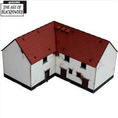Corner Stables - Lofted (Pre-Painted)