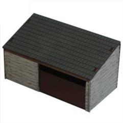 Cart Shed & Wood Store (Pre-Painted)