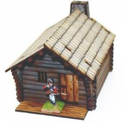 New England Pioneer's Cabin (Pre-Painted)