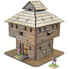 Log Timber Block House (Pre-Painted)